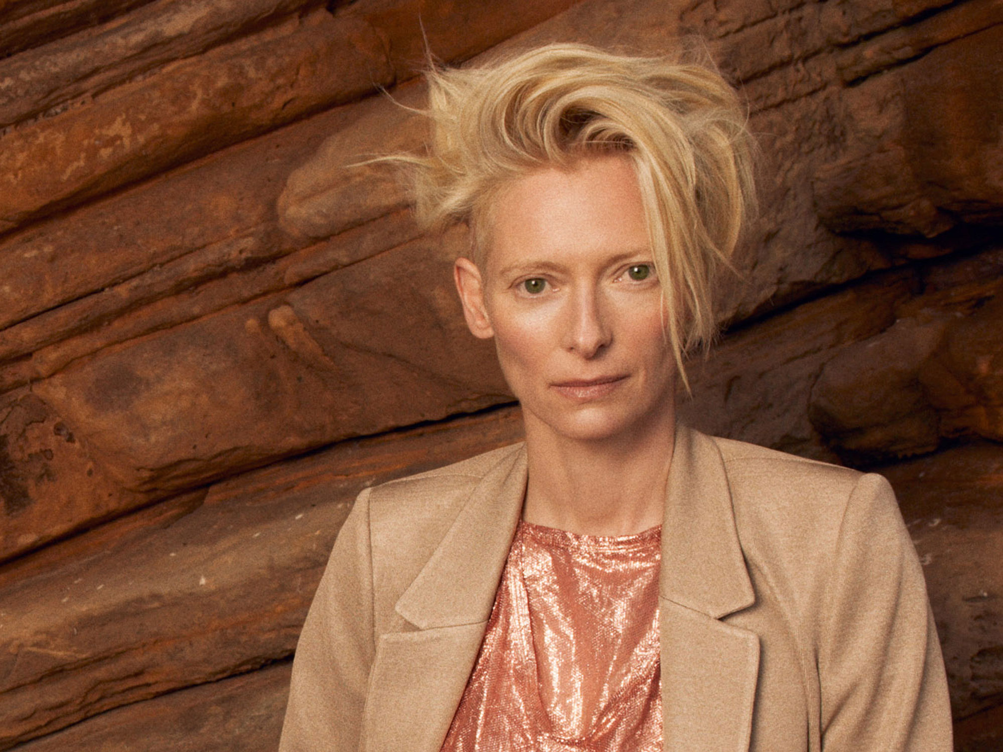 So, Tilda Swinton built a school. NBD.