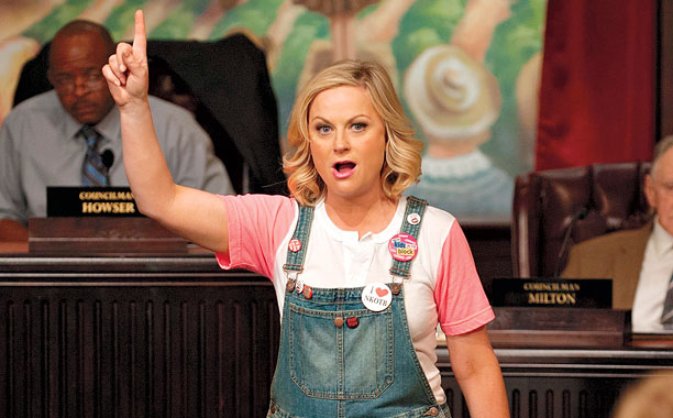 Here's how Amy Poehler is keeping Leslie Knope alive