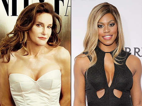 Caitlyn Jenner's Twitter message to Laverne Cox = Feel good moment of the week