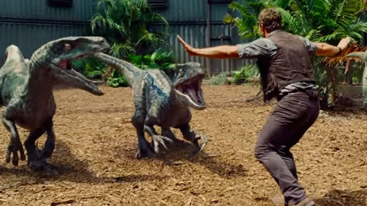 Zookeepers are recreating scenes from 'Jurassic World' as part of the #JurassicZoo trend