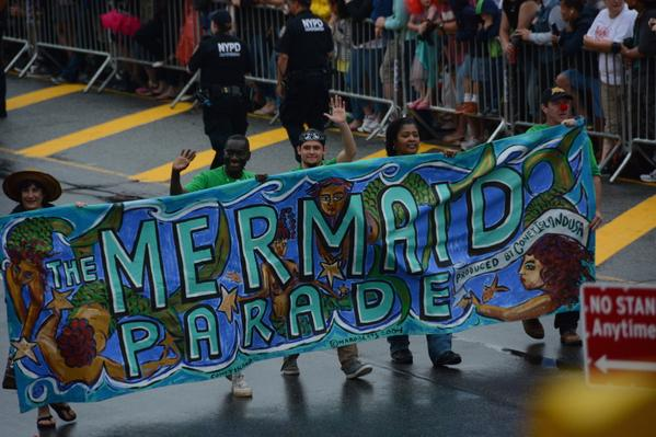 These pictures from the Mermaid parade are magical