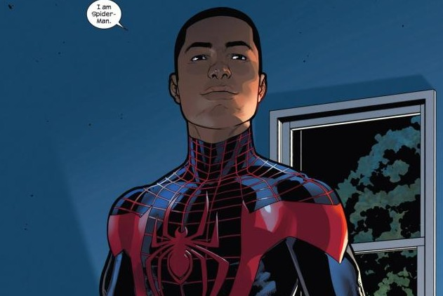 Biracial (and all-around awesome) hero Miles Morales is back as Spider-Man in the Marvel Comics Universe