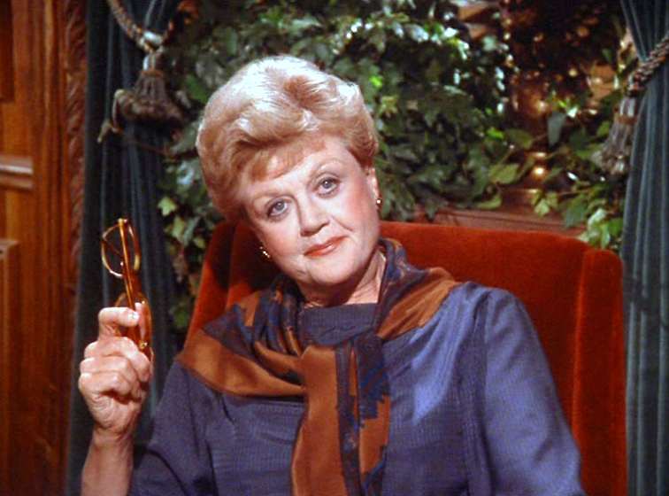 When I grow up, I want to be Jessica Fletcher