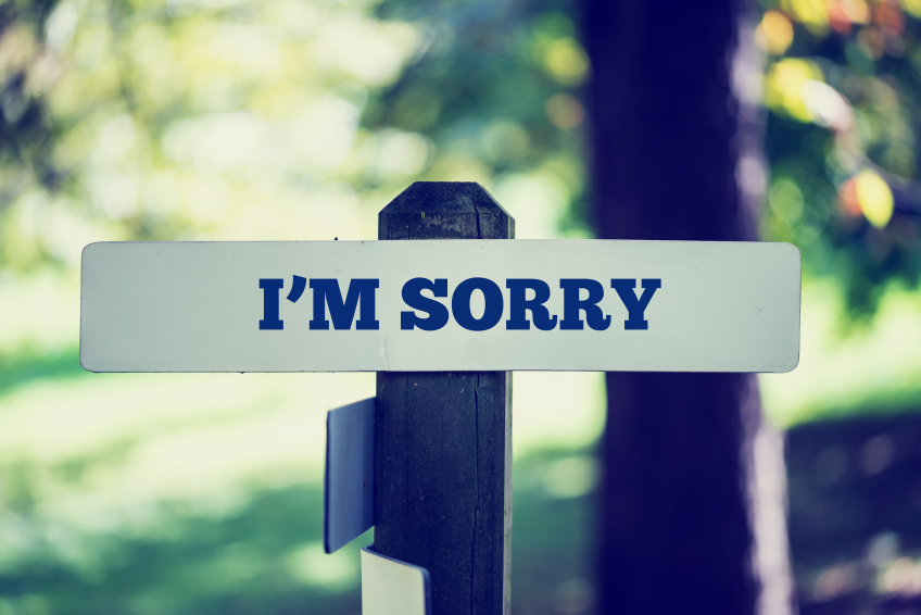 Why we need to say goodbye to constantly saying 'sorry'