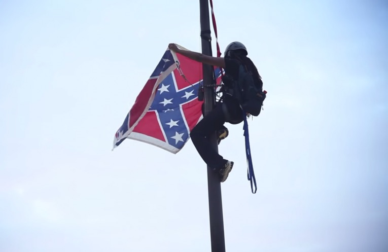 This activist just removed the Confederate flag from the South Carolina