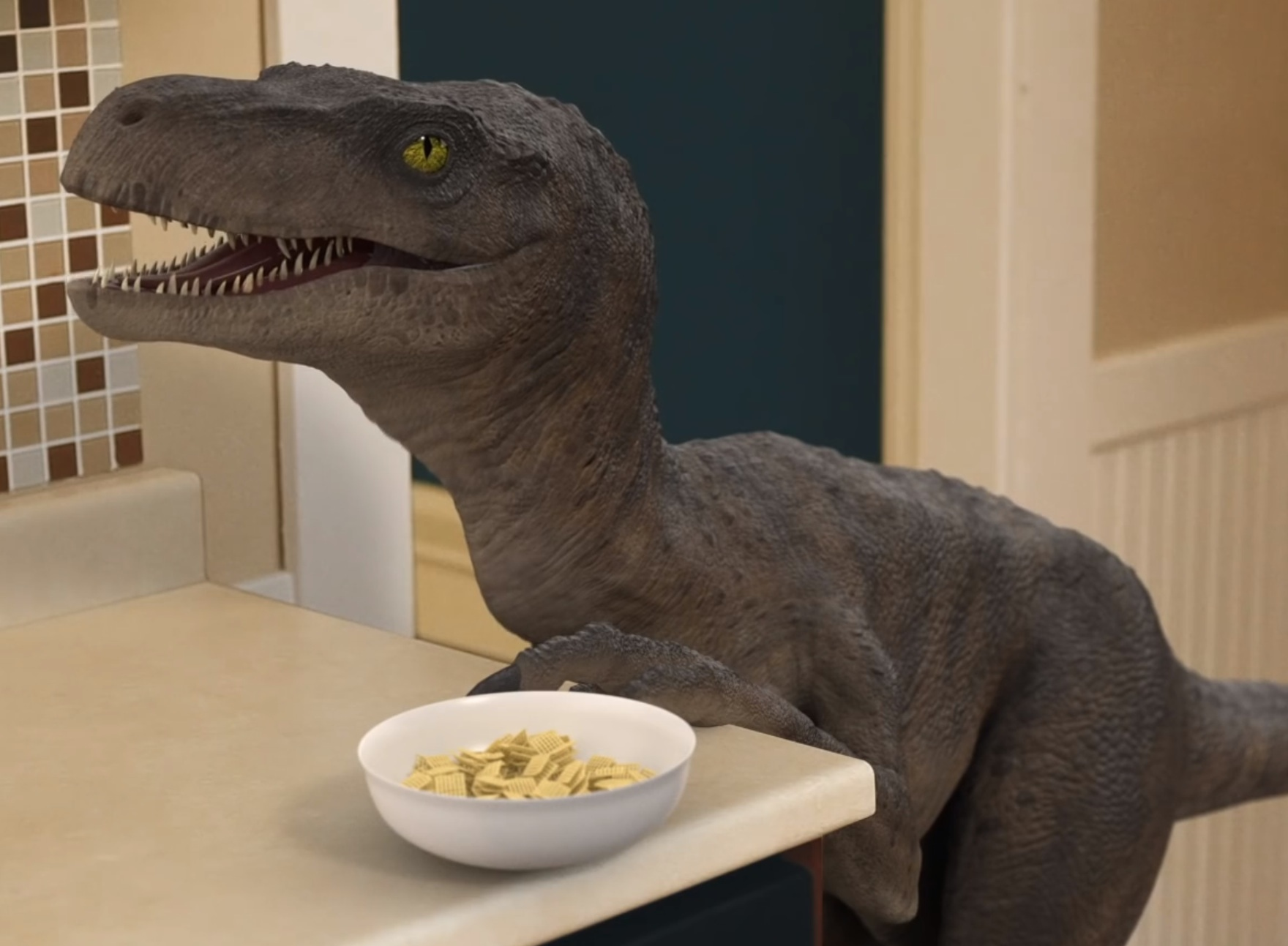 Proof that if dinosaurs were house pets, they'd be a lot like cats