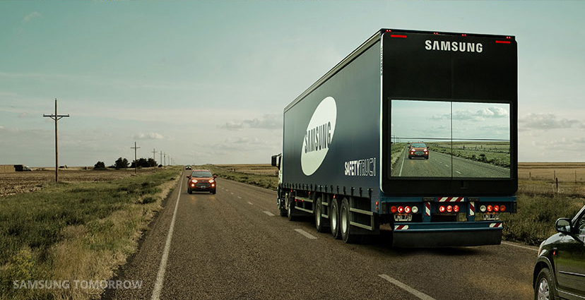 Technology just gave us something that is going to make driving past trucks a LOT less scary