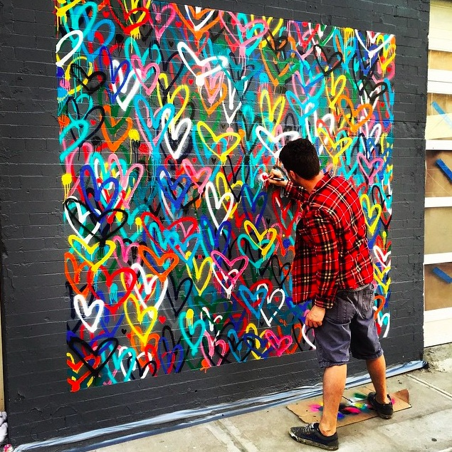 This #lovewall in New York City has become an Instagram superstar