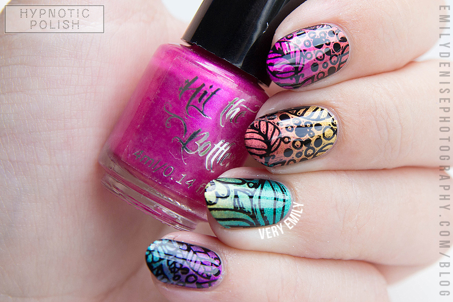 Nails of the Day: Chromatic jungle
