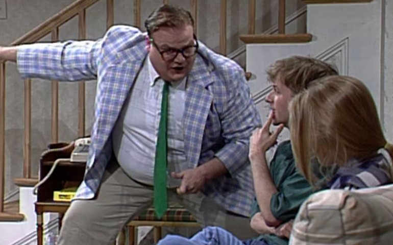 The new trailer for the Chris Farley doc is heartbreaking and wonderful