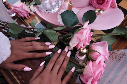 Prettify your nails with the most precious pink shade ever