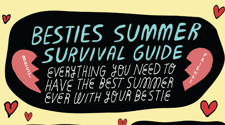 An illustrated guide to the best bestie summer ever