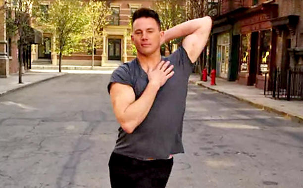 Trust us, Channing Tatum 'Voguing' is the best thing ever