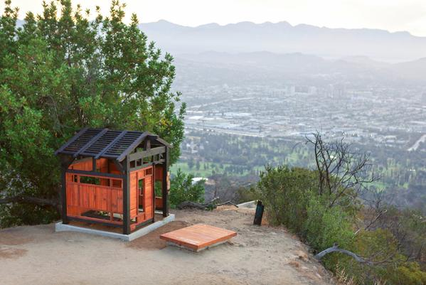 A secret teahouse in a public park fulfills a dream we never knew we had