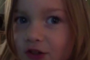 This little girl isn't about to take Siri's sass just yet