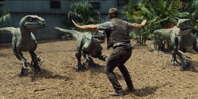 Chris Pratt agrees: This is the best 'Jurassic World' re-creation yet