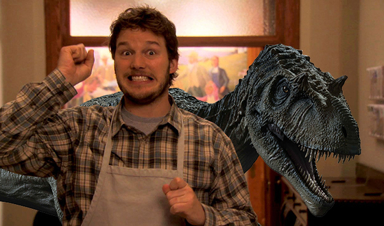 Whoa. Chris Pratt predicted he would star in 'Jurassic World' back in 2010 — and it's on video