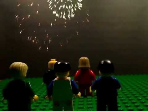 The most patriotic Lego moment just happened