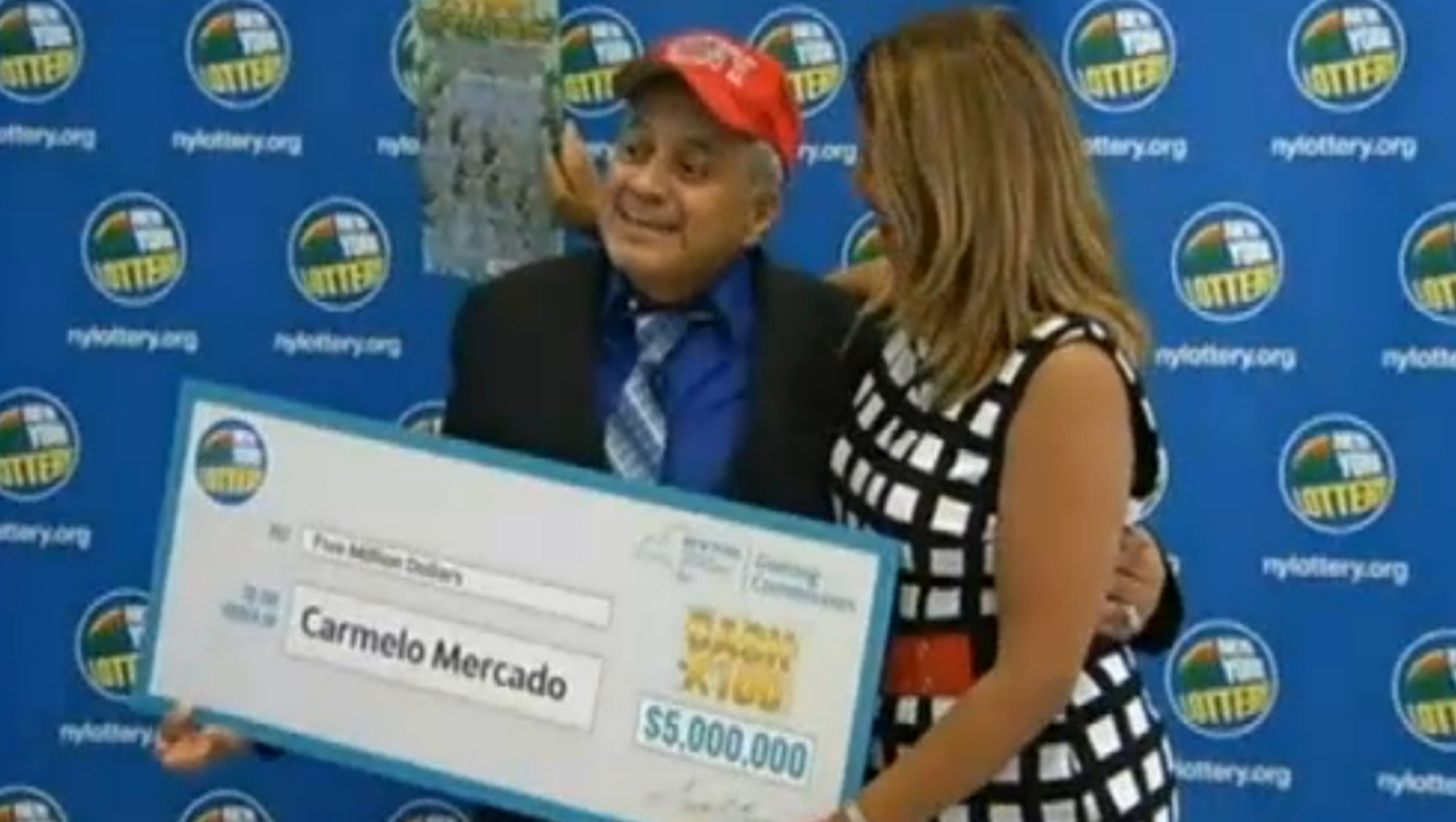 Today in karma: This 9/11 first responder just won $5 million in the lottery