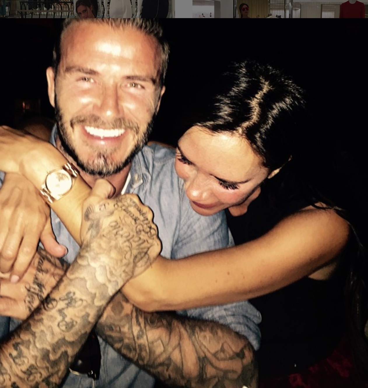 Victoria and David Beckham's IG anniversary posts give us all the #RelationshipGoals