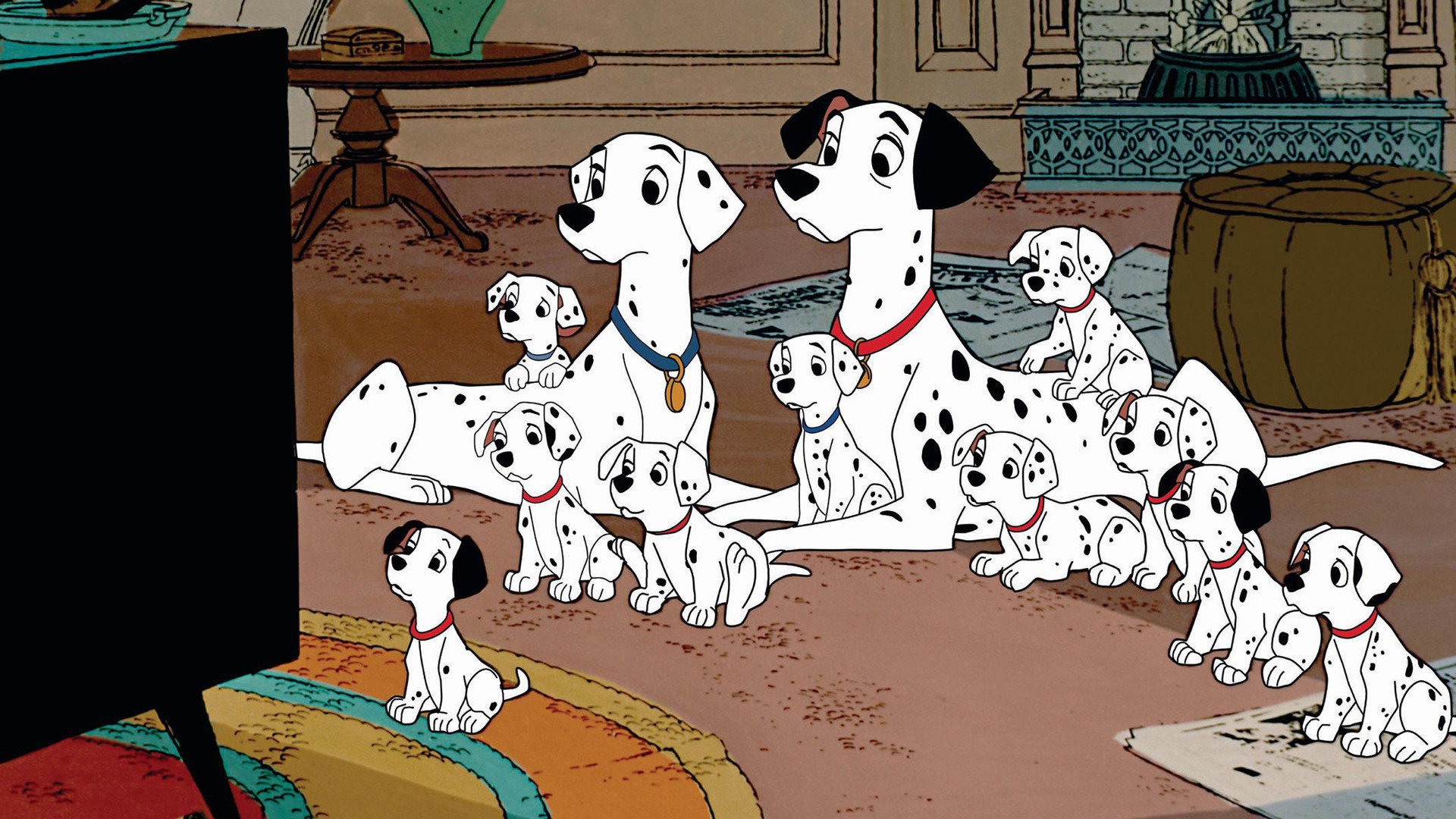 This is basically '101 Dalmations' in IRL