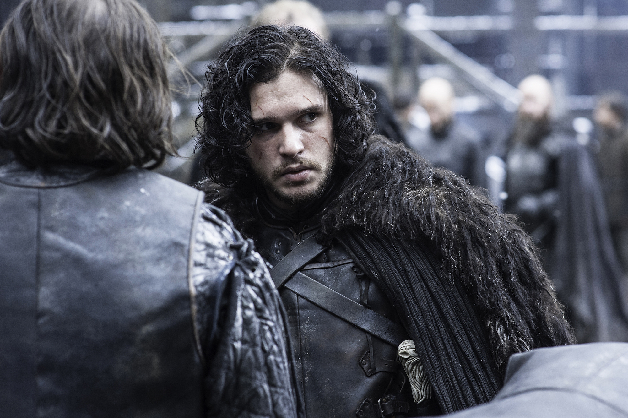 Kit Harington's hair is still long, which is pretty much proof that he'll be back on 'Game of Thrones' (we hope)
