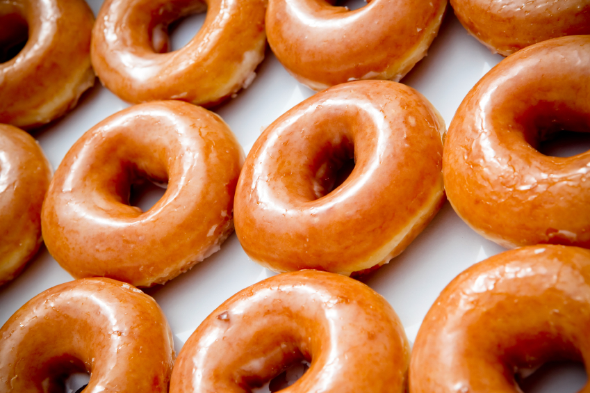 Get ready for Doughnut Heaven: for one day Krispy Kreme will sell a dozen donuts for $.78
