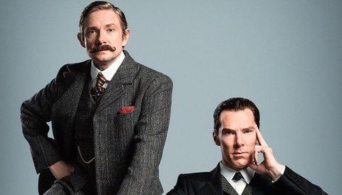 Finally, the BBC gives us a tiny taste of what's coming up on 'Sherlock'