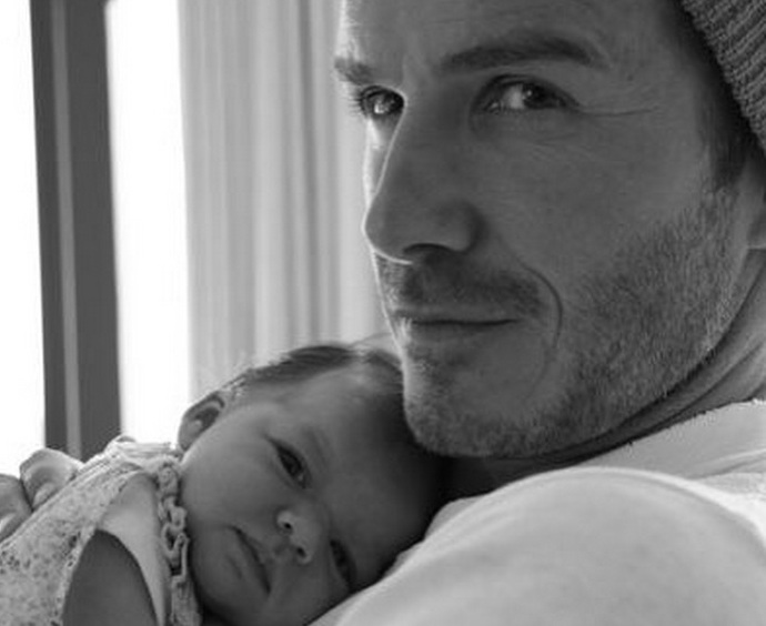 We're melting over David Beckham's tribute(s) to his daughter