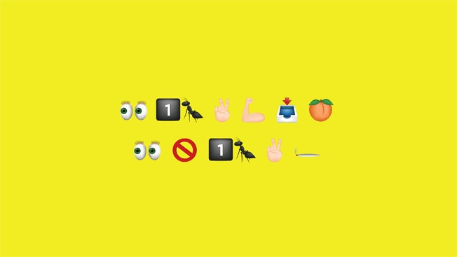These emojis are sending a serious message. Can you read it?