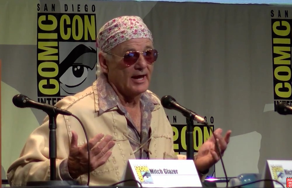 Everything Bill Murray said at Comic-Con was pure Bill Murray