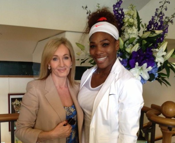 J.K. Rowling's response to Serena Williams' body-shamer is perfect
