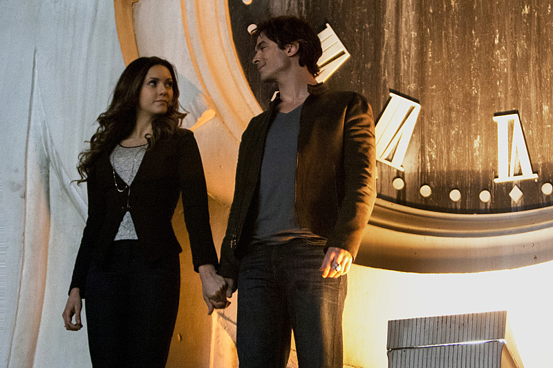 YES: Ian Somerhalder hinted at Elena's return on 'The Vampire Diaries'