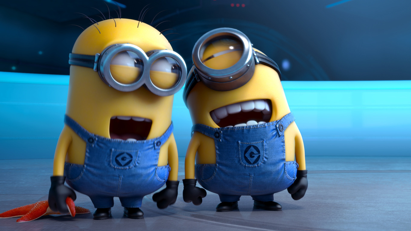 A dad took his son to see 'Minions' dressed as a Minion. Best. Dad. Ever.
