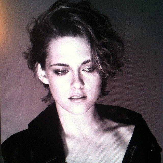 "Kristen Stewart tells 'Marie Claire' she's done with saying ""sorry."" Yes, yes, yes to this!"