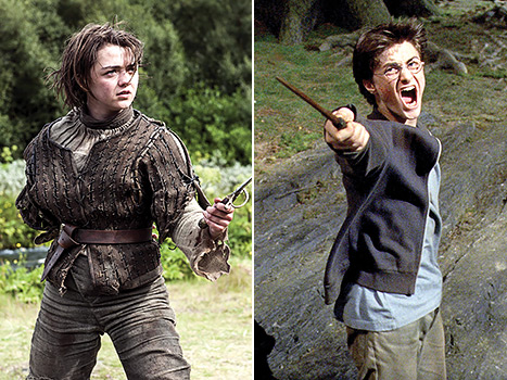 Harry Potter and Arya Stark just made our fandom dreams come true