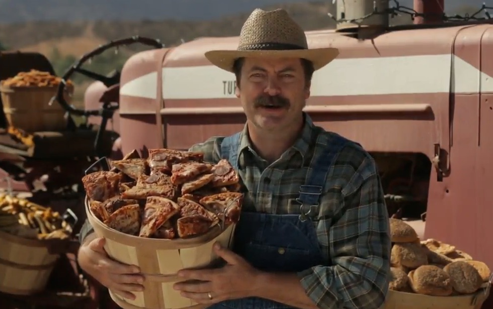 Nick Offerman's newest job: pizza farmer