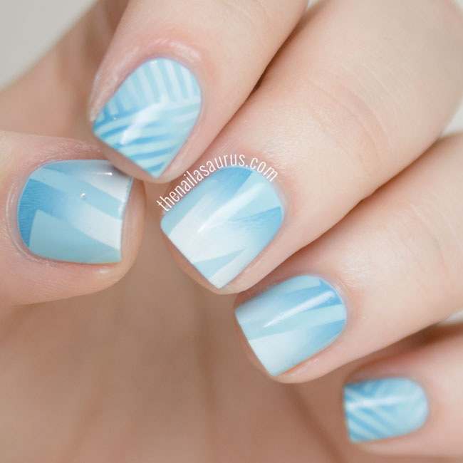 Nails of the Day: Serenity in blue