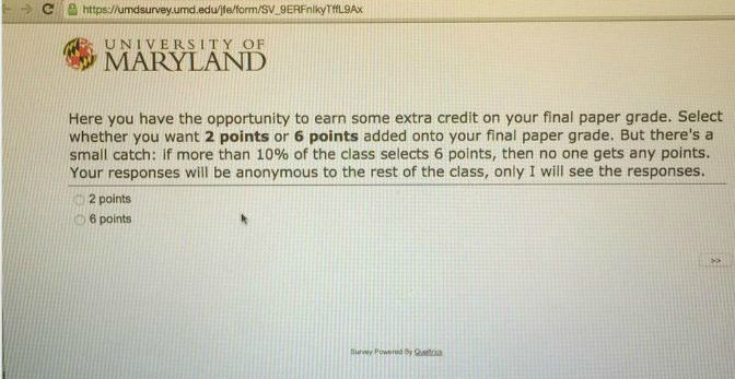 This professor's extra credit problem will mess with your mind