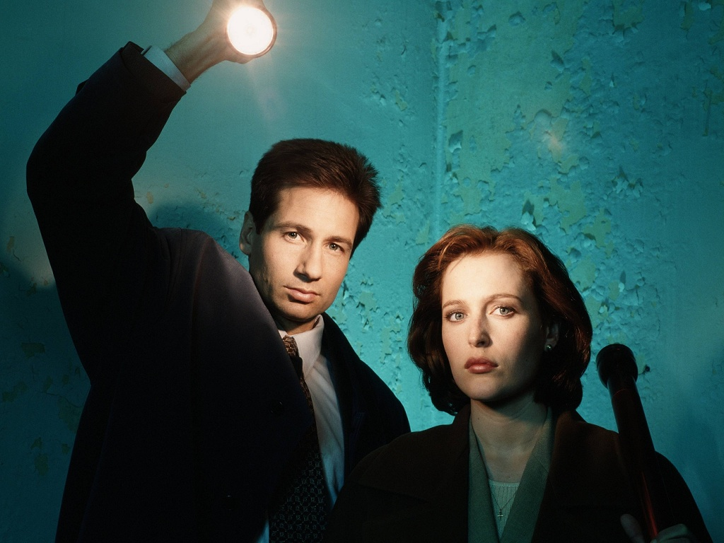 And here's 15 seconds of brand new 'X-Files' footage