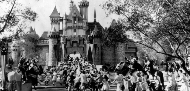 In honor of Disneyland's 60th birthday, let's take a time-machine back to 1955 and see where it all began...