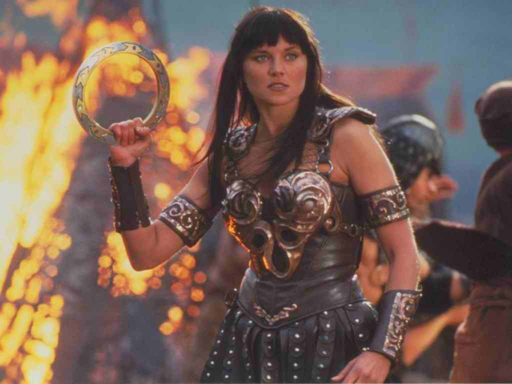 Lucy Lawless says she's game to play Xena again so let's make this happen, Hollywood