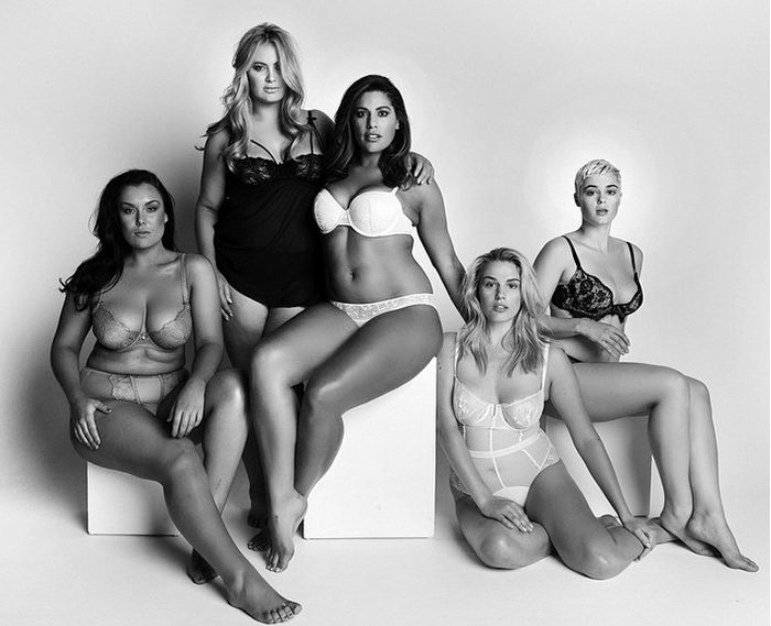 Why these body positive models are sharing their insecurities with the world