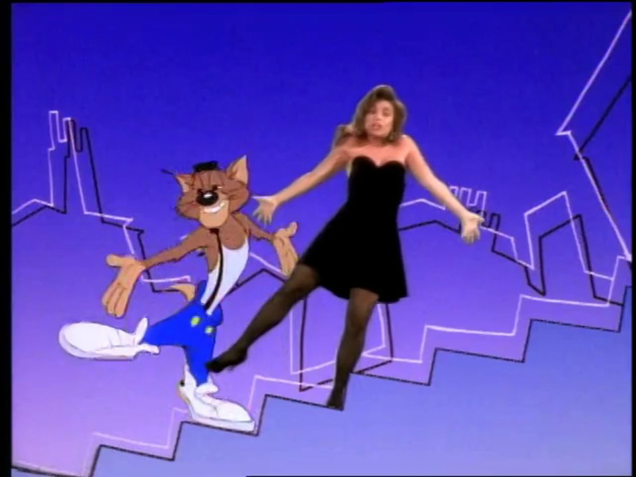Paula Abdul and James Corden recreated the 'Opposites Attract' video. Long live MC Skat Kat!