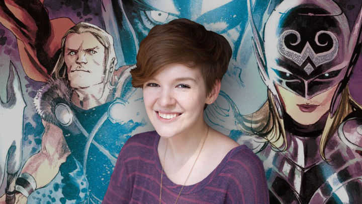 Meet the comic book world's 23-year-old queen, Noelle Stevenson