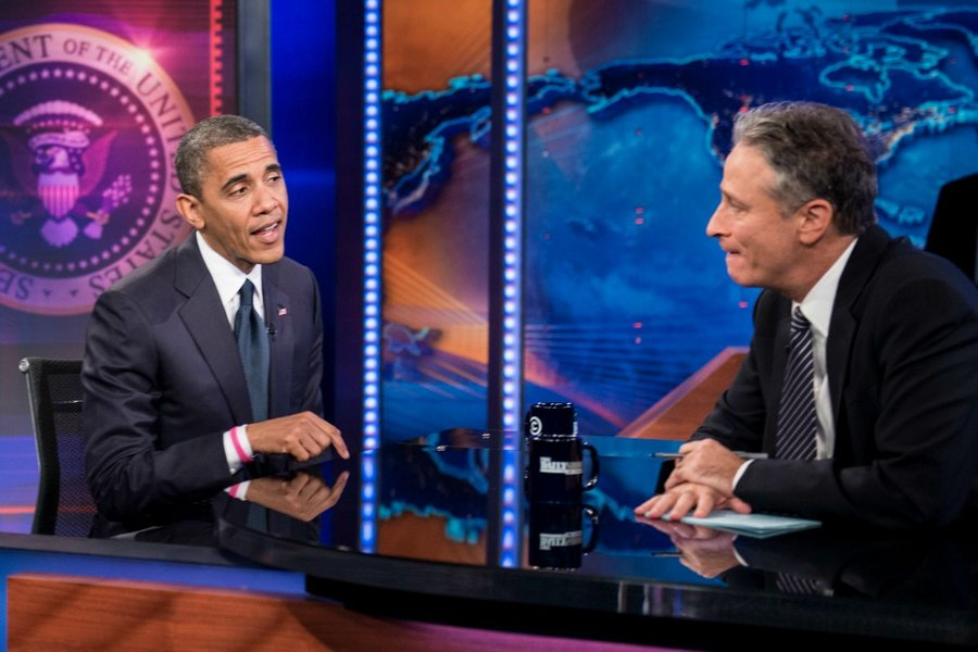 Jon Stewart's last 'Daily Show' with President Obama: The moments we're still talking about