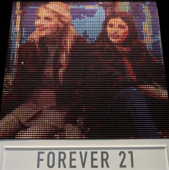 Forever 21 is recreating your Instagrams out of thread