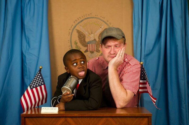 Talking to Kid President about life in the miniature Oval Office