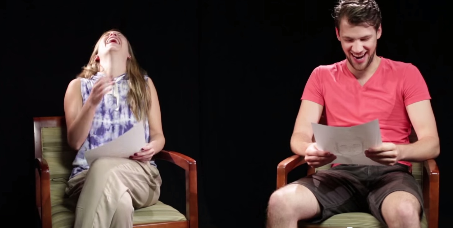Couples describe each other to a sketch artist — and things get kind of ridiculous