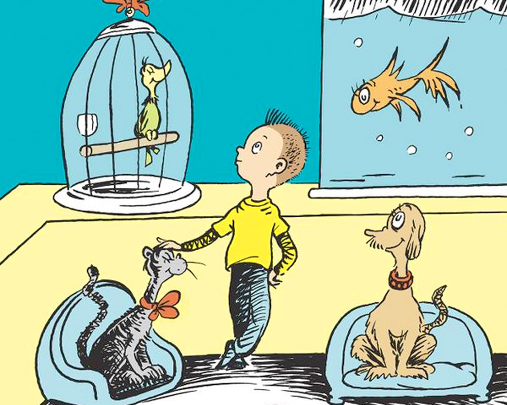 Oh, the things we just learned about Dr. Seuss' long-lost book